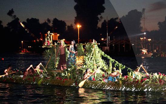 Nuits Nautiques de Papeete et Nouméa